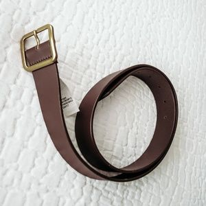 Target Brown Leather Belt